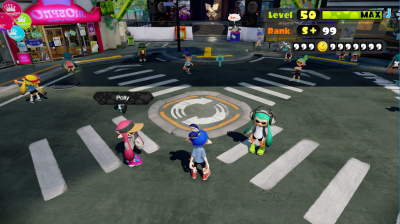Inkopolis Plaza shader bug