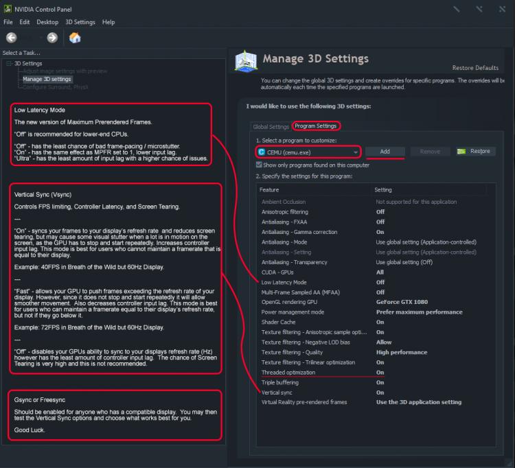 Serfrosts Cemu Setup Guide - Cemu Wiki